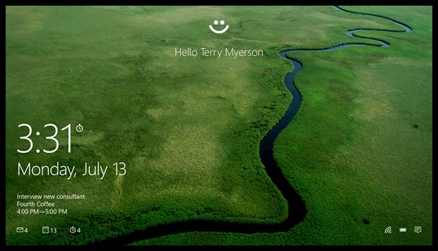 Windows Hello – вход в Windows без использования традиционных паролей