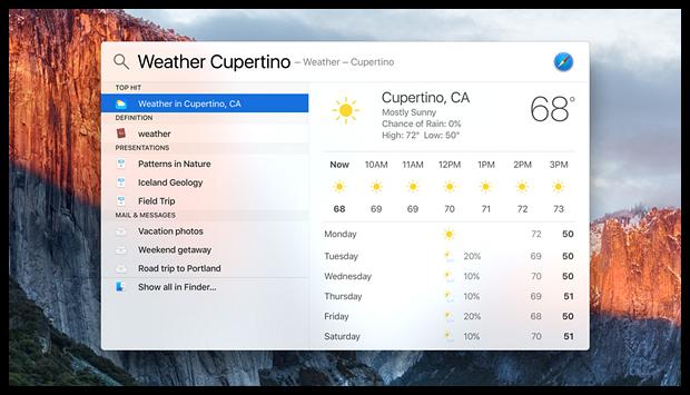 OS X El Capitan дата выхода и основные нововведения