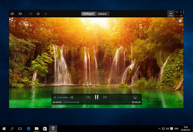 5KPlayer – минималистичная альтернатива штатному плееру Windows 10
