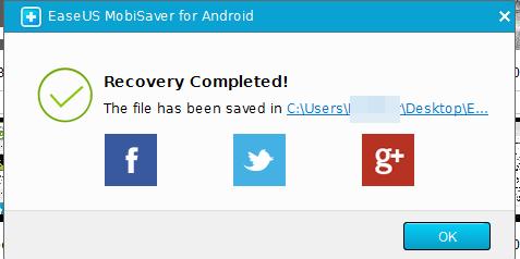 Восстановление файлов на Android с помощью программы EaseUS MobiSaver for Android
