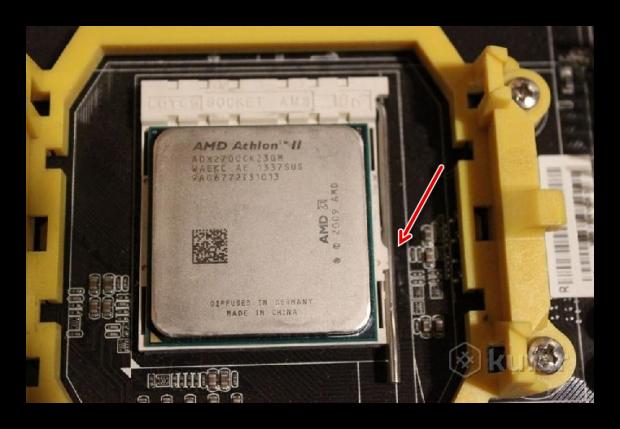 Снятие процессора на AMD