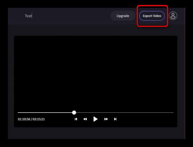 Экспорт видео на Clipchamp