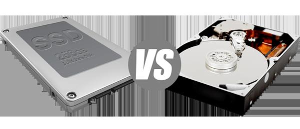 Сравнение SSD и HDD