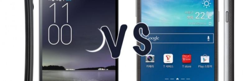 LG G Flex и Samsung Galaxy Round: в чем разница?
