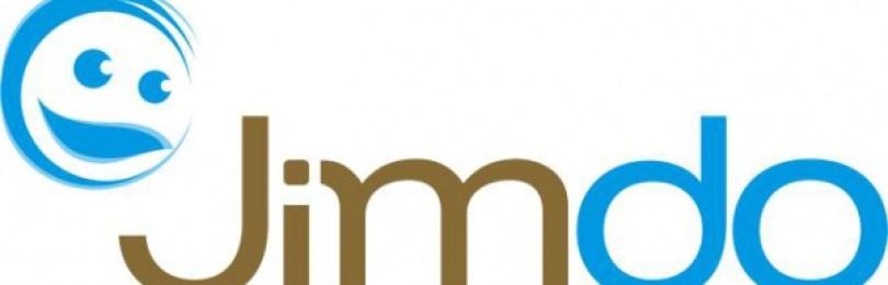Бесплатный конструктор сайтов онлайн-сервис Jimdo