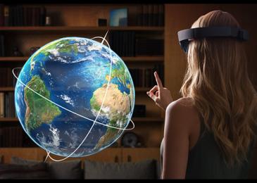 Microsoft HoloLens: с небес на землю