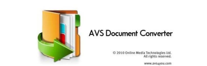 Обзор  AVS Document Converter. Программа для конвертирования текстовых файлов