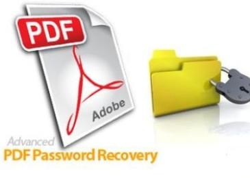 Advanced PDF Password Recovery. Отличная программа для снятия защиты с PDF-файлов
