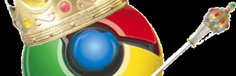 Google Chrome впервые обходит Internet Explorer по числу пользователей