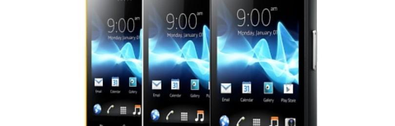 Смартфон Sony Xperia Go