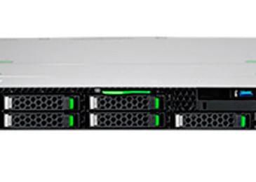 Двухпроцессорный стоечный сервер Fujitsu PRIMERGY RX2530 M4