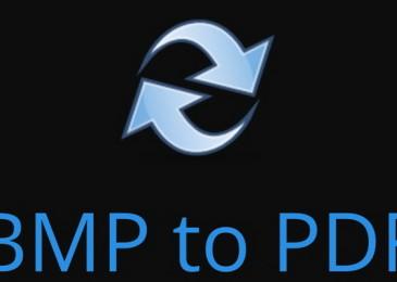 Как конвертировать формат bmp в pdf