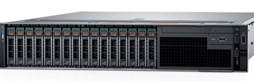 Описание сервера Dell EMC PowerEdge R740 для создания и хранения баз данных