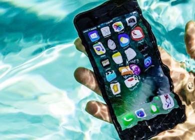 Что делать при попадании воды в iPhone