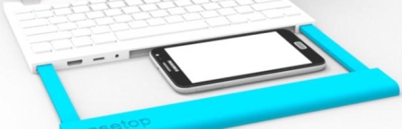 С помощью Casetop вы можете превратить свой Android-смартфон в ноутбук