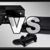 Сравнение размеров Xbox One и PlayStation 4