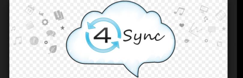 Облачный сервис 4Sync. Бесплатный инструмент синхронизации
