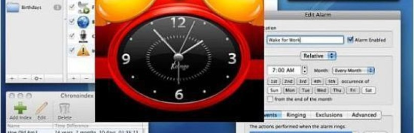 Обзор программы-планировщика Alarm Clock Pro