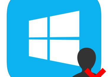 Как стереть аккаунт в Windows 8