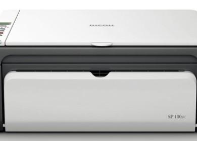 МФ — принтер Ricon Aficio SP 100SU: поиск и установка драйверов